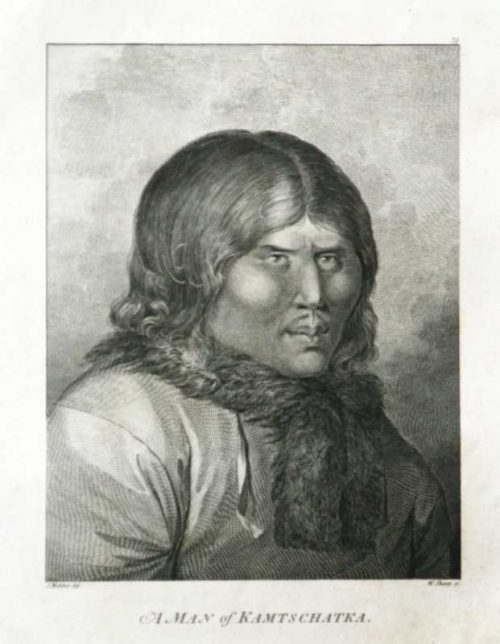 A Man From Kamtscatka James Cook Final Voyage John Webber engraving