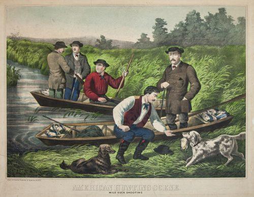 American Sporting Scene, Wild duck hunting.jpg