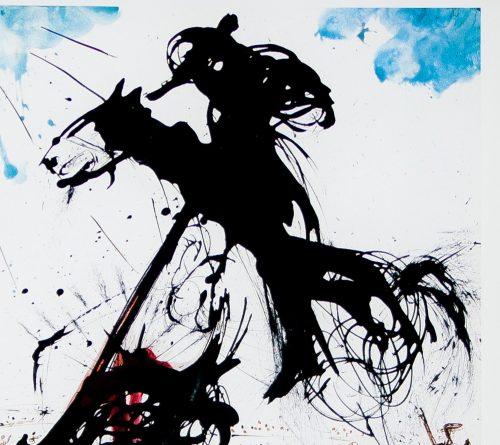 Dali bullfight poster detail2