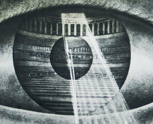 Salvador Dali Espana lithograph poster 1970