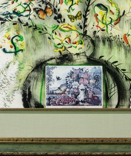 Salvador-Dali- Les -Fleurs et- Fruits -framed- detail3.jpg.