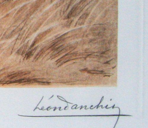 Danchin Griffon pointing at woodcock original etching detail.jpg.