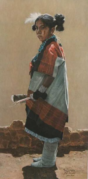 Hopi Daughter Ray Swanson signed limited edition print 1975