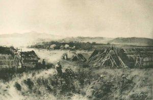 Indian Ranchera John Muir Picturesque California Photogravure 1888