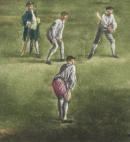 Josset A Cricket Match detail 1