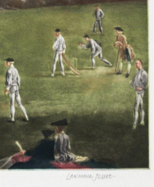 Josset A Cricket Match detail 2