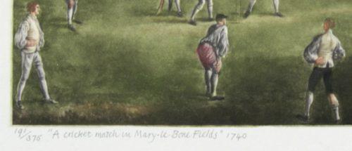 Josset A Cricket Match detail 3