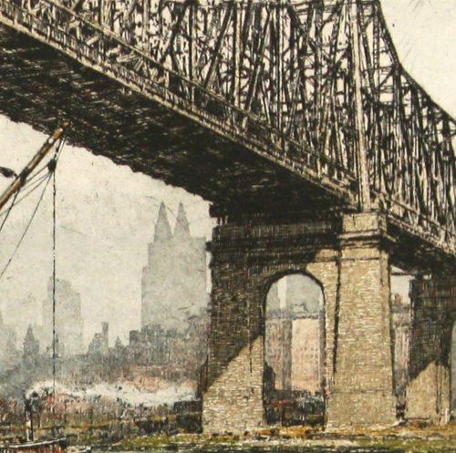 Queensboro Bridge NY Kasimer detail 3
