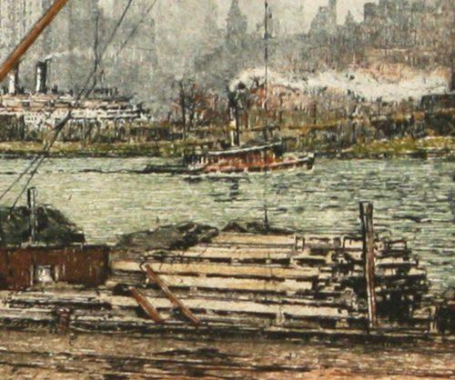 Queensboro Bridge NY Kasimer detail 5
