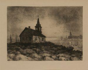 M.M. Taylor etching