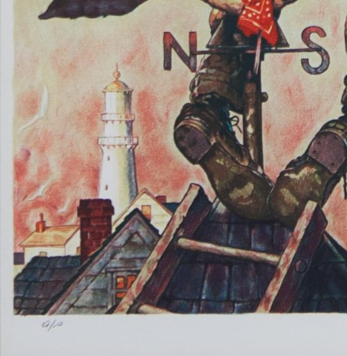 Norman- Rockwell- Under -Sail-lithograph-detail 1.jpg.