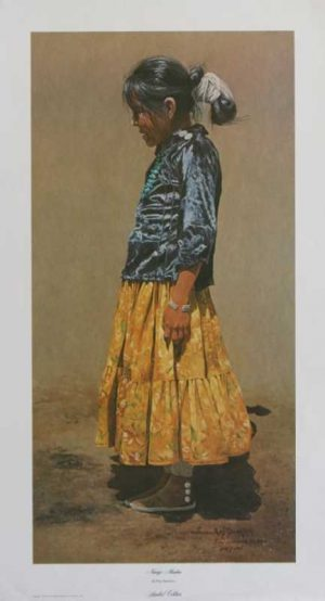 Navajo Maiden Ray Swanson Signed limited edition print