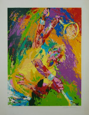 Blood serve serigrpah leroy neiman for sale