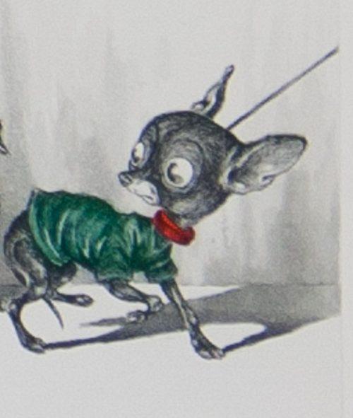 Naughty dogs of Paris original etching by Boris O'Klein.jpg.