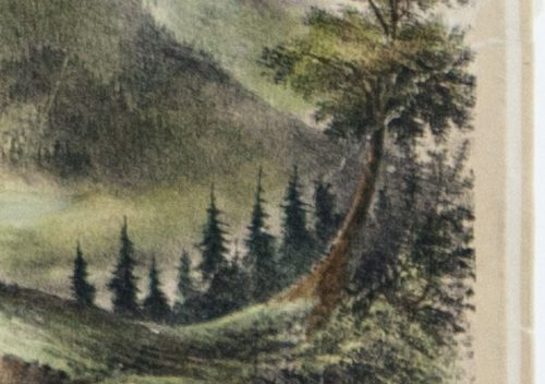 Panorama of Catskill Mountains N.Y. detail 8