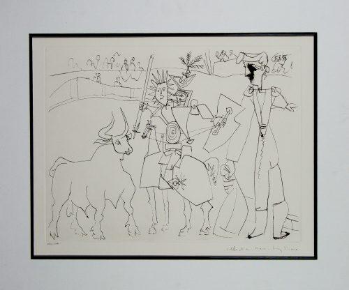 Picasso Chevalier Piccador