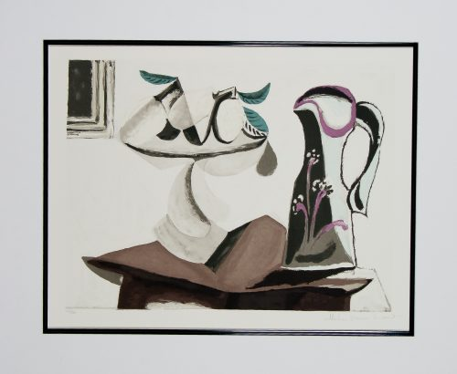 Nature Morte au Citron et a la Cruche lithograph Picasso Estate Collection.jpg.com