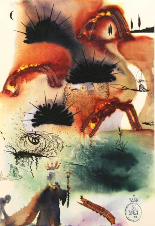 The Lobsters Quadrille Salvador Dali Alices Adventures In Wonderland original
