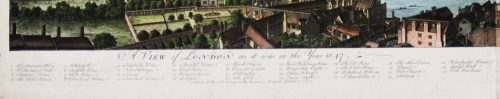 View of London as it was in the year 1647 detail 4